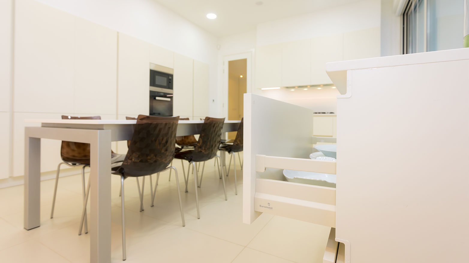 Residence in Mazoto Euromobil Kitchen Renovation Cyprus Kitchen Studio Living & More Bedroom Solutions Wardrobes Zalf
