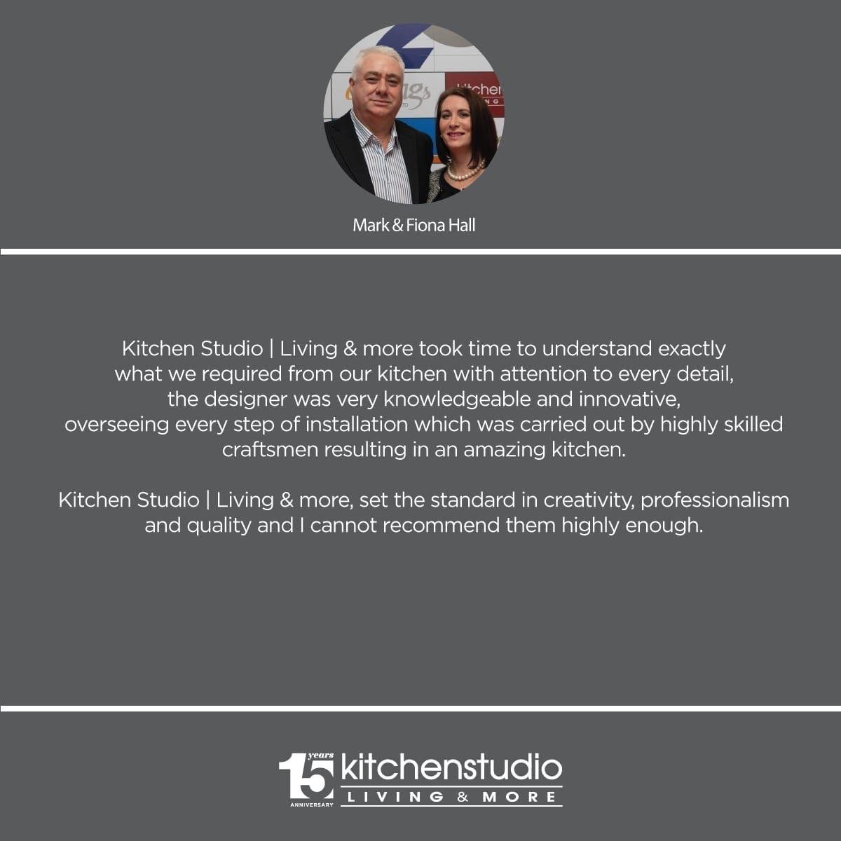 Kitchen Studio Living & more testimonial